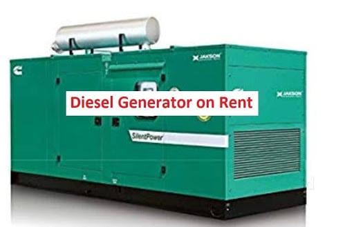 Diesel Generator on Rent