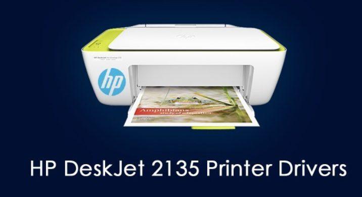 HP DeskJet 2135 Printer drivers
